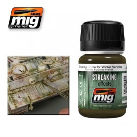 Ammo of MIG Enamel Streaking Effect STREAKING GRIME FOR WINTER VEHICLES