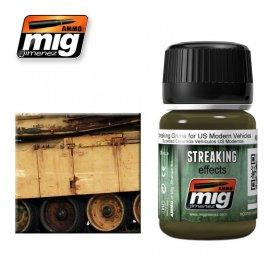 Ammo of MIG Enamel Streaking Effect STREAKING GRIME FOR US MODERN VEHICLES