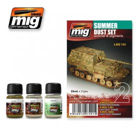 Ammo of MIG Zestaw SUMMER DUST SET