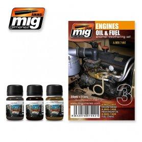 Ammo of MIG Zestaw ENGINES SET