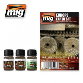 Ammo of MIG Zestaw EUROPE EARTH SET