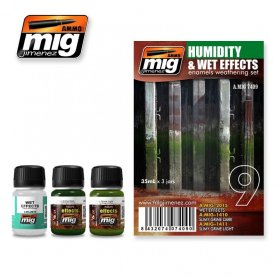 Ammo of MIG Zestaw HUMIDITY AND WET EFFECTS