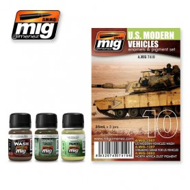 Ammo of MIG Zestaw US MODERN VEHICLES SET