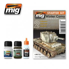 Ammo of MIG Zestaw PANZER GREY - STARTER SET
