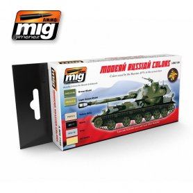 Ammo of MIG Zestaw farb MODERN RUSSIAN CAMO COLORS