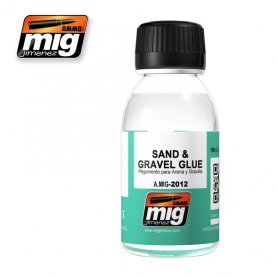 Ammo of MIG SAND & GRAVEL GLUE Klej do piasku i kamieni