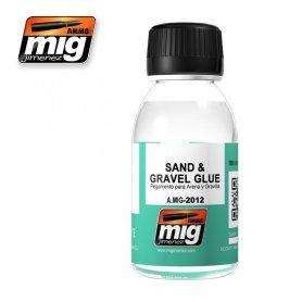 Ammo of MIG SAND & GRAVEL GLUE Klej do piasku i kamieni