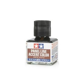 TAMIYA Panel Line Accent Color Brown 40ml - Wash olejny