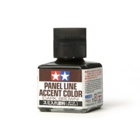 TAMIYA Panel Line Accent Color Black 40ml - Wash olejny