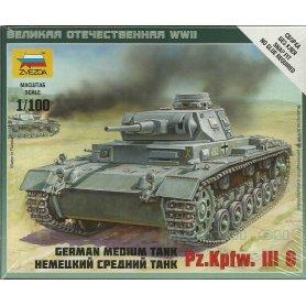Zvezda 1:100 Pz.Kpfw.III Ausf.G
