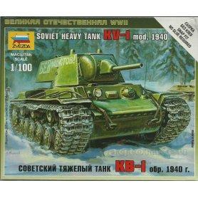 Zvezda 1:100 KV-1 model 1940