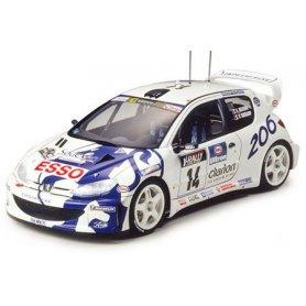 TAMIYA 1:24 Peugeot 206 WRC