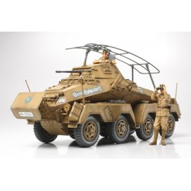 Tamiya 1:35 German Sd.Kfz.232 Africa Corps - 8 Wheeled Heavy Armored Car