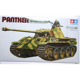 Tamiya 1:35 German Panther Med Tank