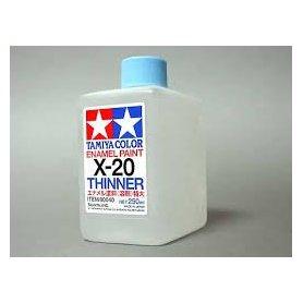 Tamiya Enamel Paint X-20 Thinner - 250ml