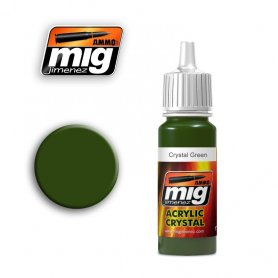 Ammo of MIG Farba Crystal Green