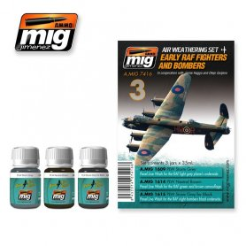 Ammo of MIG Zestaw RAF FIGHTERS AND BOMBERS