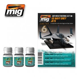 Ammo of MIG Zestaw US NAVY GREY JETS