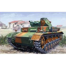 Mirage Hobby 1:72 Pz.Kpfw. IV C, Normandia 1944, niemiecki czołg