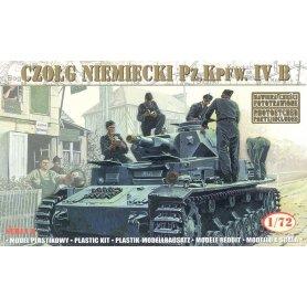 Mirage Hobby 1:72 Pz.Kpfw. IV B, 21 Panzerdivision (neu) 1943