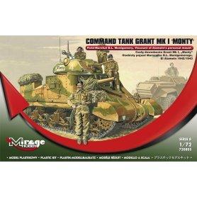 Mirage Hobby 1:72 Czołg dowodzenia Grant Mk I