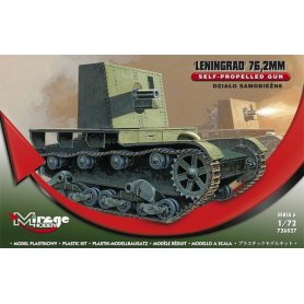 Mirage Hobby 1:72 Działo samobieżne 76,2 mm – Leningrad