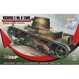 Mirage Hobby 1:72 Czołg Vickers E Mk B