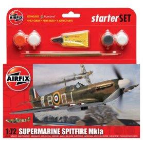 Airfix 1:72 Supermarine Spitfire MkIa Starter Set