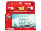 Airfix 1:600 Cutty Sark Starter Set