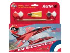 Airfix 1:72 RAF Red Arrows Gnat | Starter Set | w/paints |