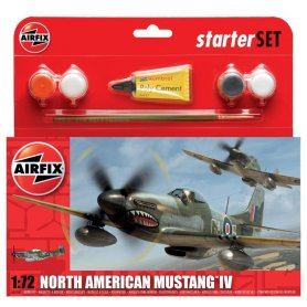Airfix 1:72 North American Mustang IV | Starter Set | w/paints |