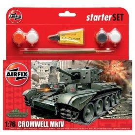 Airfix 1:76 Cromwell MkIV Tank Starter Set