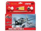Airfix 1:72 Focke Wulf Fw-190 A-8   w/paints  