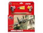 Airfix 1:72 Hawker Typhoon Mk.Ib | Starter Set | w/paints |