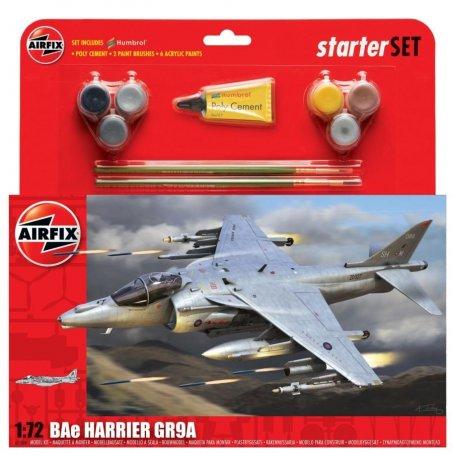 Airfix 1:72 BAe Harrier GR9A Starter Set