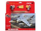 Airfix 1:72 BAe Harrier GR9A | Starter Set | w/paints |