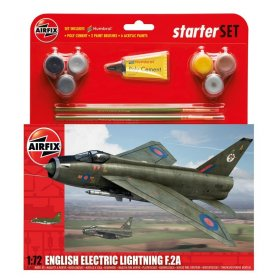 Airfix 1:72 English Electric Lightning F.2A Starter Set
