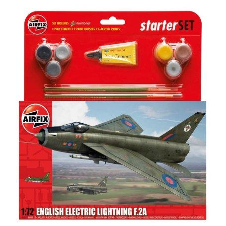 Airfix 1:72 English Electric Lightning F.2A | Starter Set | w/paints |