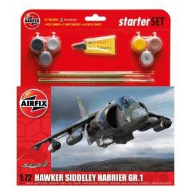 Airfix 1:72 Hawker Harrier GR1 Starter Set