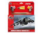 Airfix 1:72 Hawker Harrier GR1 | Starter Set | w/paints |