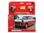Airfix 1:32 Triumph Herald - STARTER SET - w/paints
