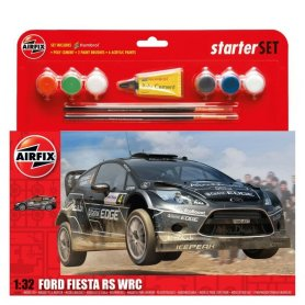 Airfix 1:32 Ford Fiesta WRC | Starter Set | w/paints |
