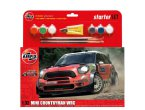 Airfix 1:32 Mini Countryman WRC - STARTER SET - z farbami