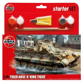Airfix 1:76 Pz.Kpfw.VI King Tiger | w/paints |