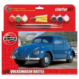 Airfix 1:32 Volkswagen Beetle | Starter Set | w/paints |