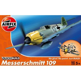 Airfix QUICK BUILD Messerschmitt Bf-109E