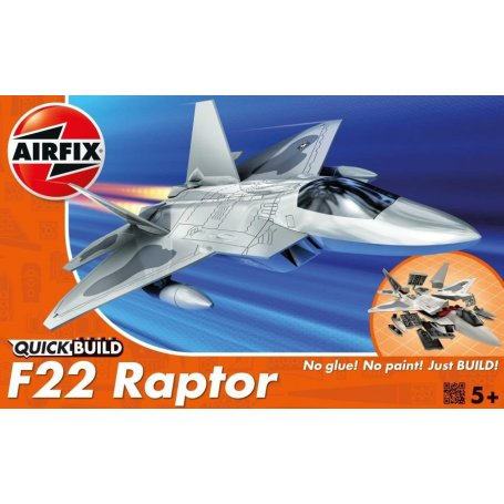 Airfix QUICK BUILD F22 Raptor / 24 parts