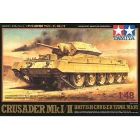Tamiya 1:48 Crusader Mk I/II