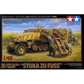 Tamiya 1:48 Sd.Kfz.251/1 Stuka zu Fuss