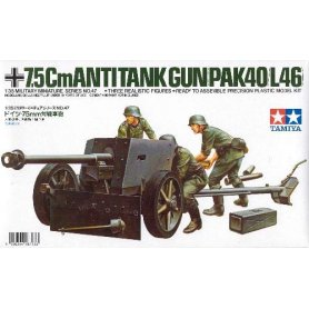 Tamiya 1:35 German 75mm A.T.G.